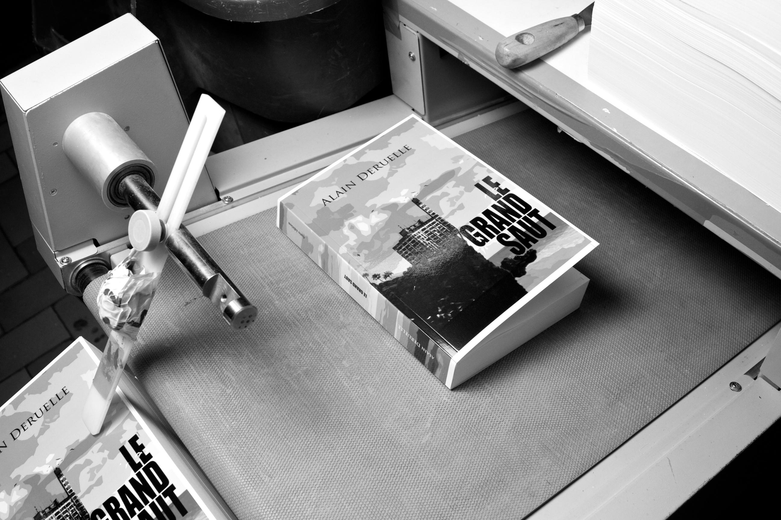 Un livre sortant de l'imprimerie
