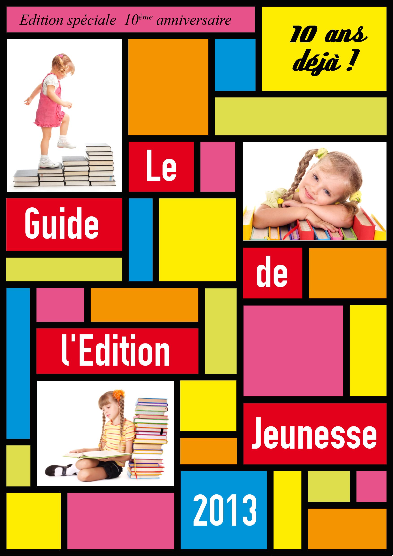 Couverture guide de l'Édition Jeunesse 2013
