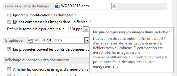 Explication de Word