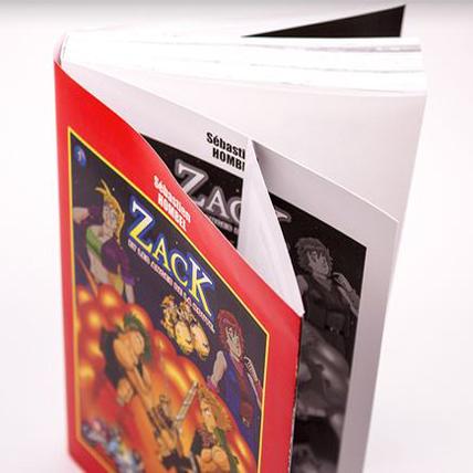 Manga avec sur-couverture